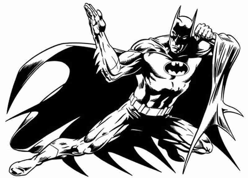 dessin de batman en ligne
