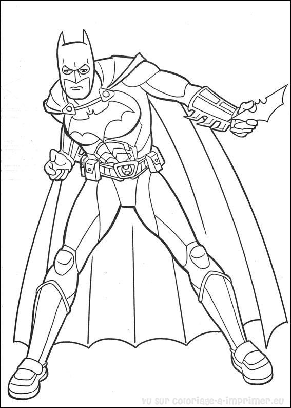 coloriage batman arkham origins