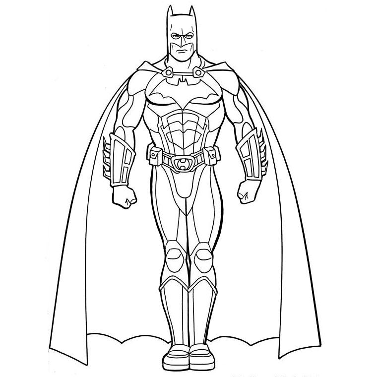 coloriage batman et joker