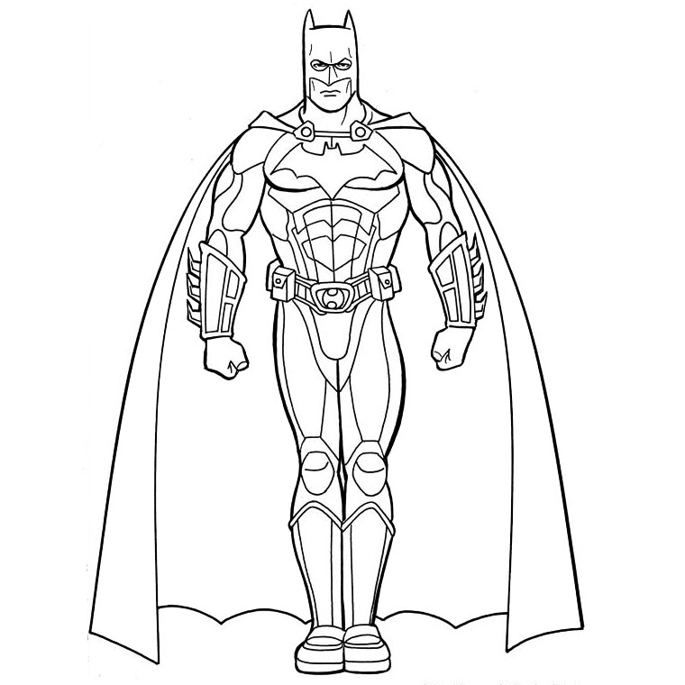 103 dessins de coloriage batman imprimer - Coloriage batman ...