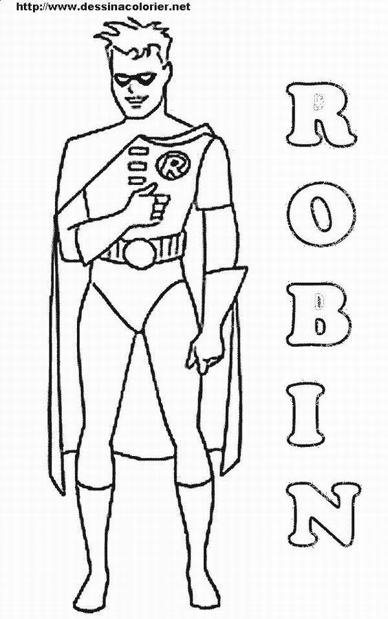 103 dessins de coloriage batman  u00e0 imprimer