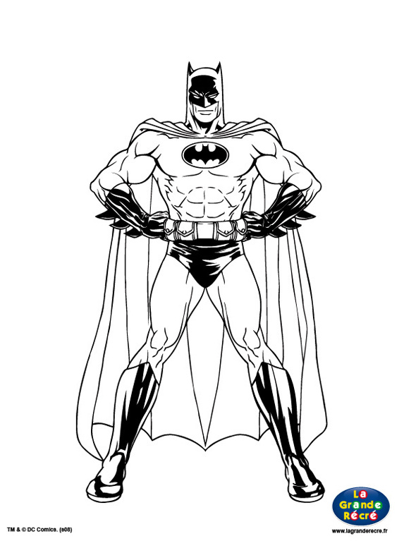 103 Dessins De Coloriage Batman A Imprimer