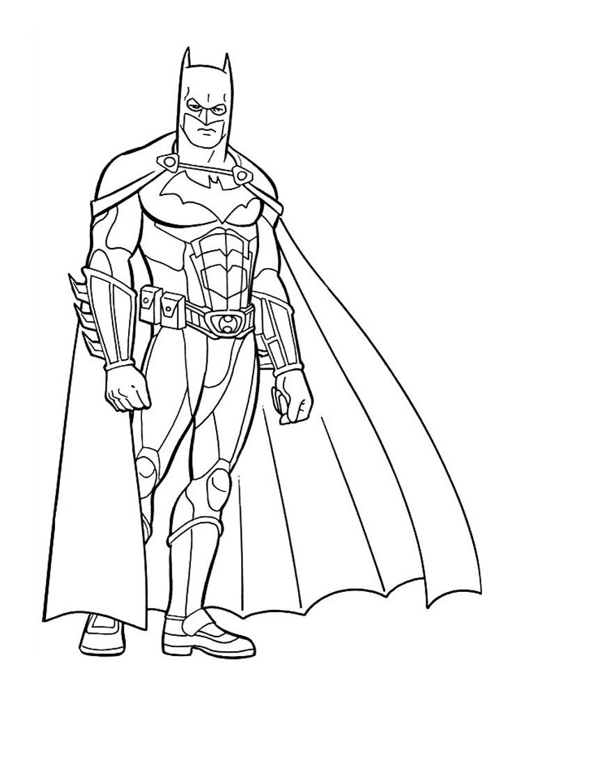 Coloriage Batman Coloriage Dessiner Batman Et Robin Etape 4
