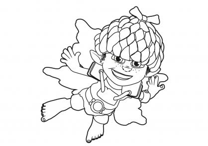 coloriage à dessiner en ligne b daman