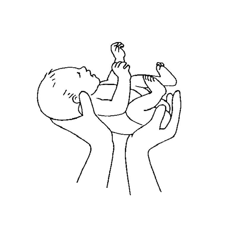 dessin à colorier bebe mickey