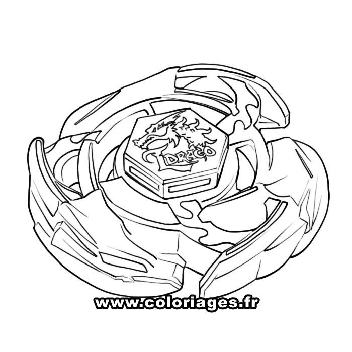 dessin de beyblade