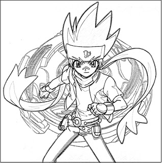Coloriage A Dessiner Beyblade 2 on html le