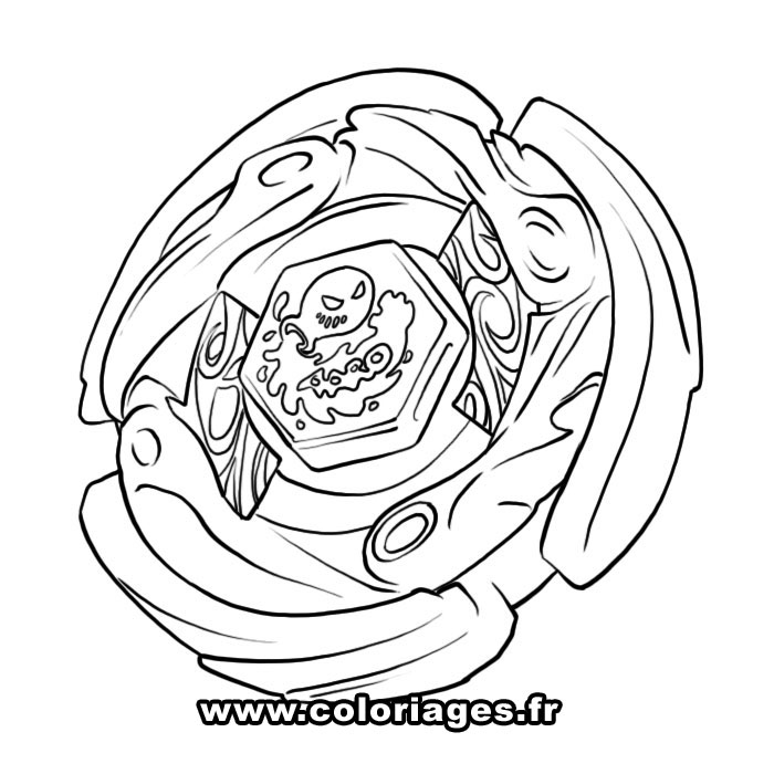coloriage � dessiner beyblade gratuit