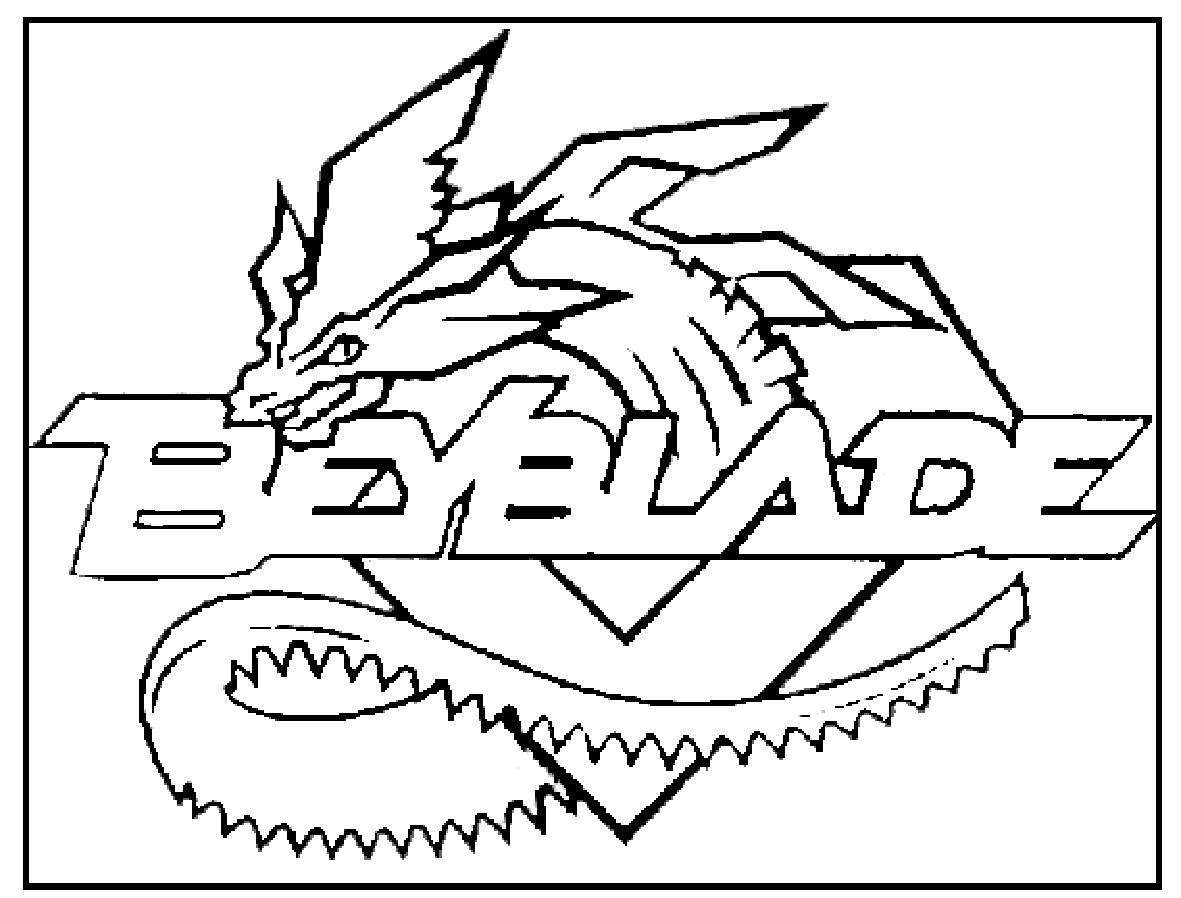 dessin de beyblade fury