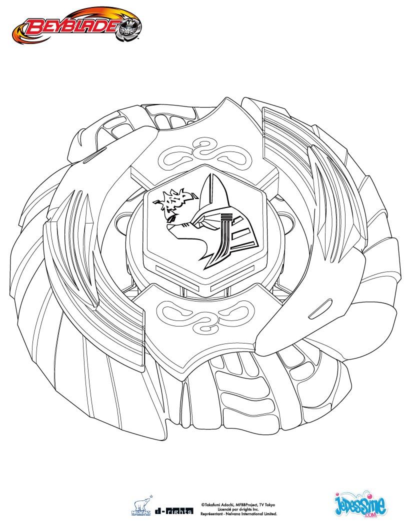 7 dessins de coloriage beyblade metal fury imprimer - Dessin beyblade ...
