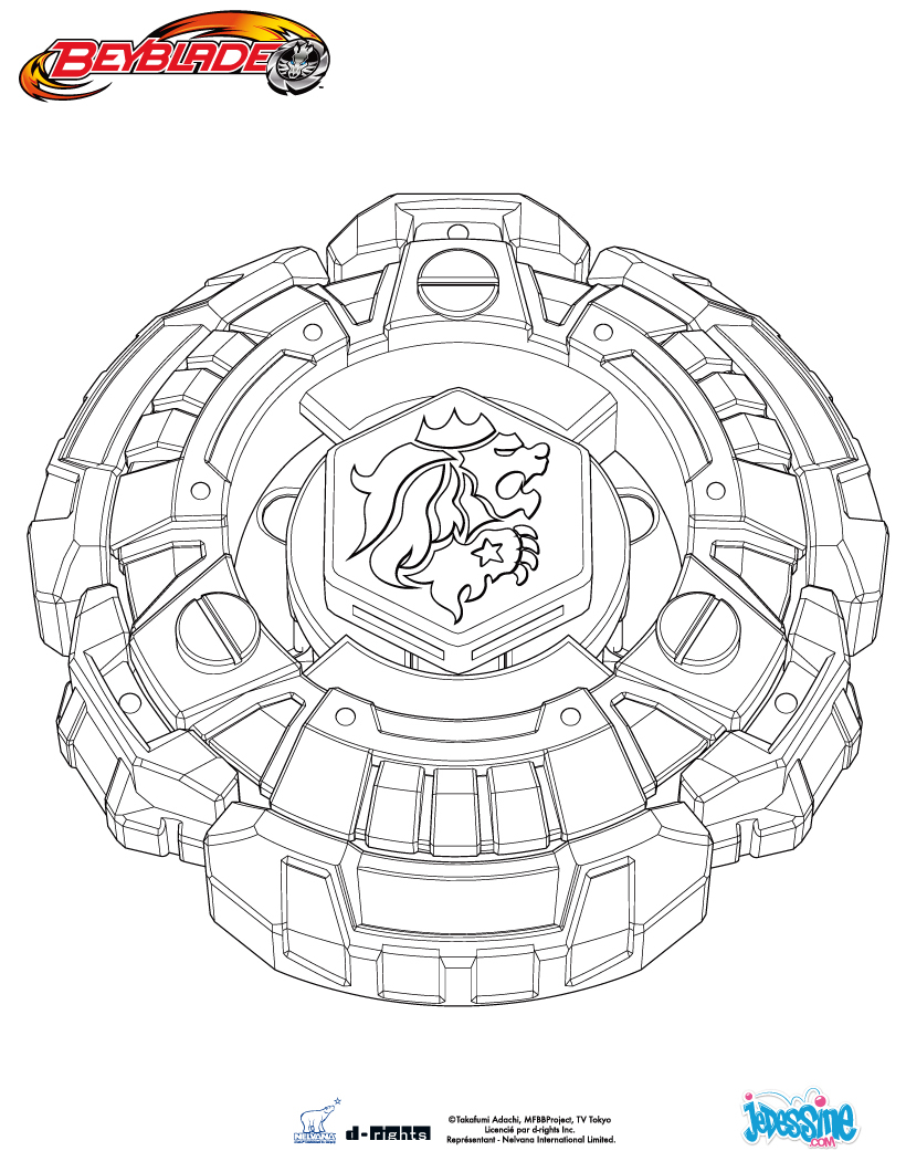 beyblade ginga coloring pages - 7 dessins de coloriage beyblade metal fury imprimer