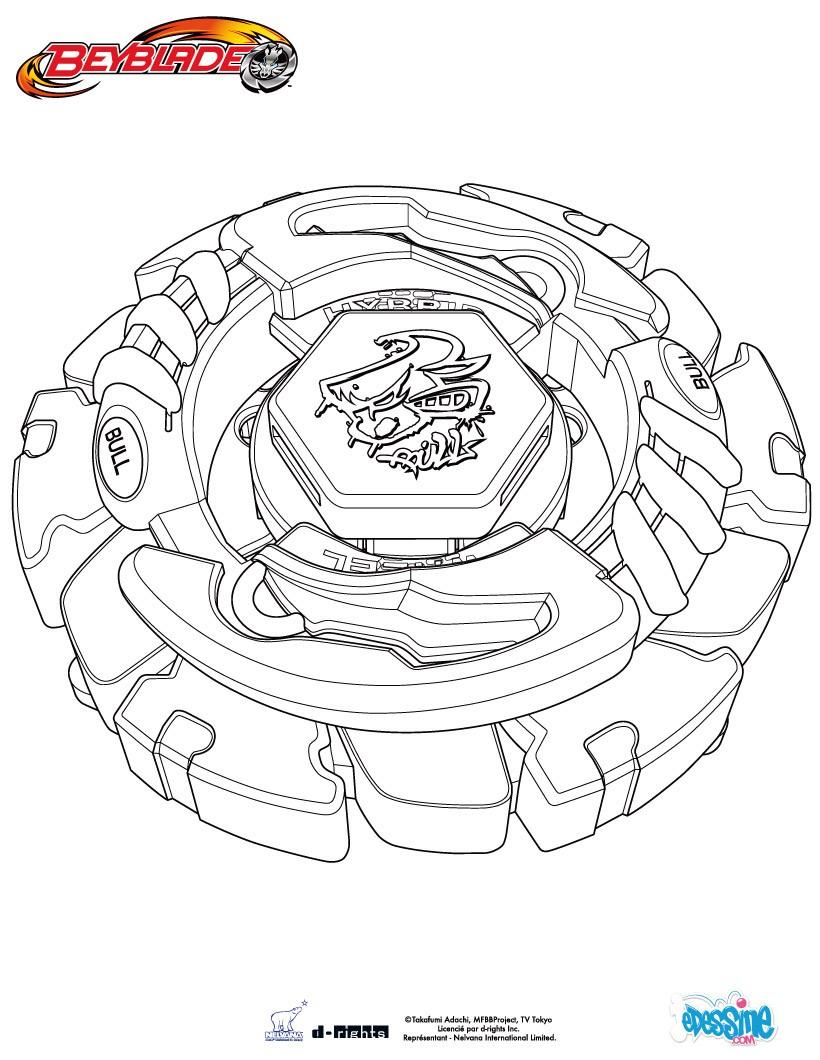 7 dessins de coloriage beyblade imprimer - Dessin beyblade ...