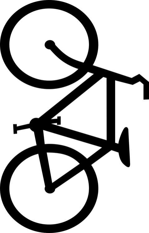 coloriage d'une bicyclette