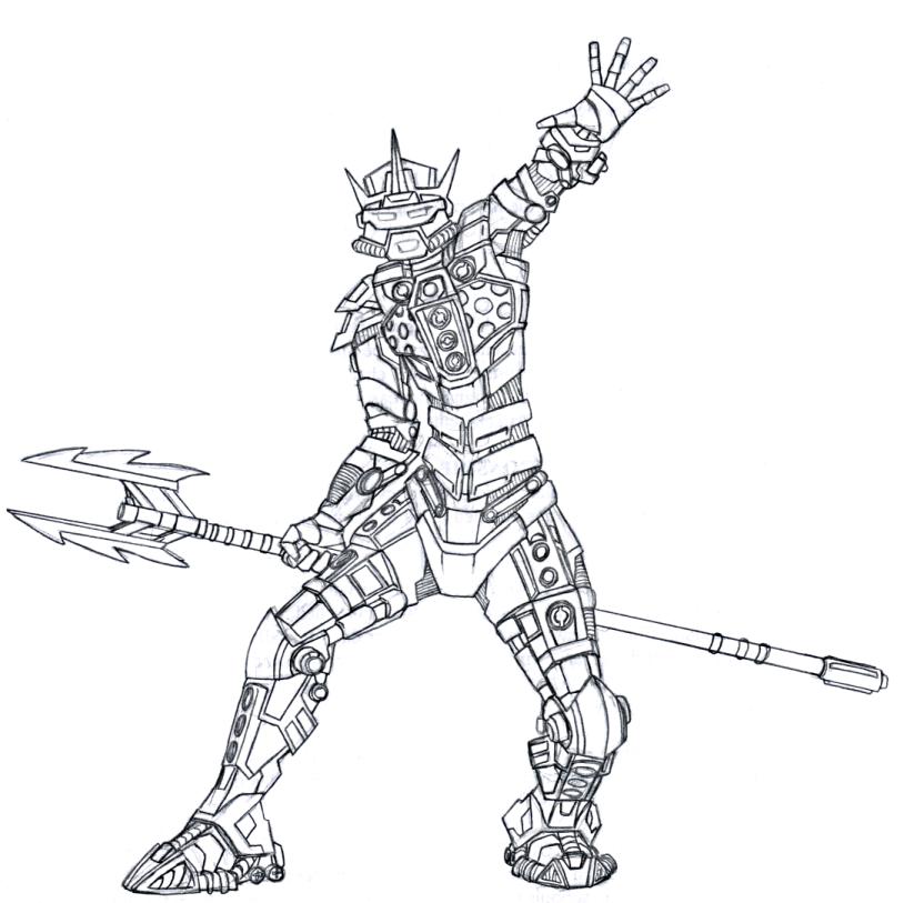 dessin à colorier bionicle imprimer