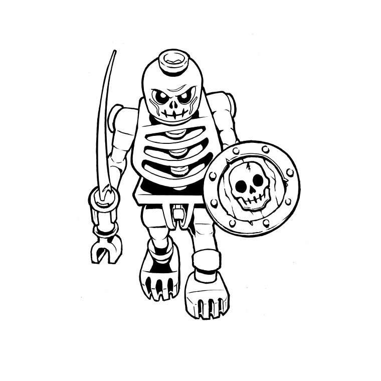 dessin bionicle