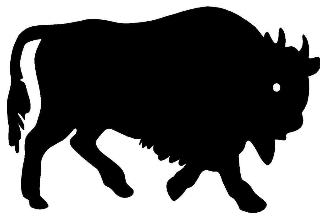 coloriage à dessiner bison imprimer