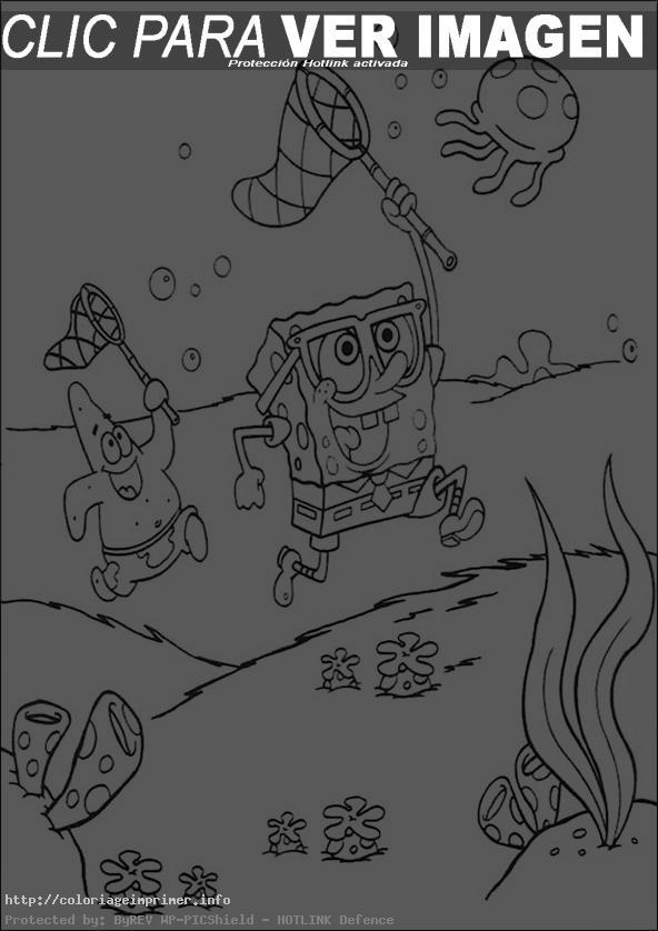 14 dessins de coloriage bob l ponge halloween imprimer - Bob l eponge halloween ...