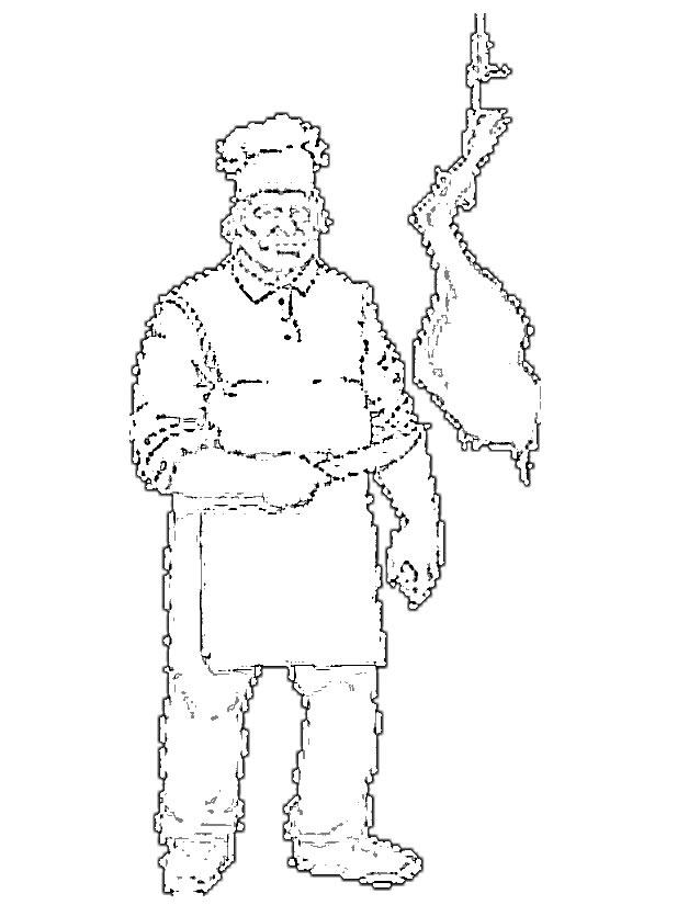 dessin boucher imprimer