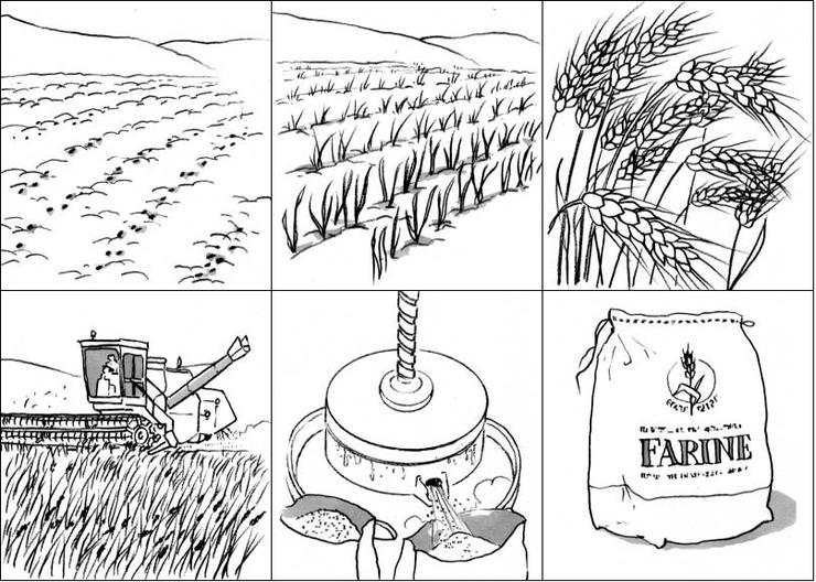 9 dessins de coloriage boulanger pain imprimer - Coloriage boulangerie ...