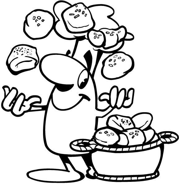 dessin magique boulangerie