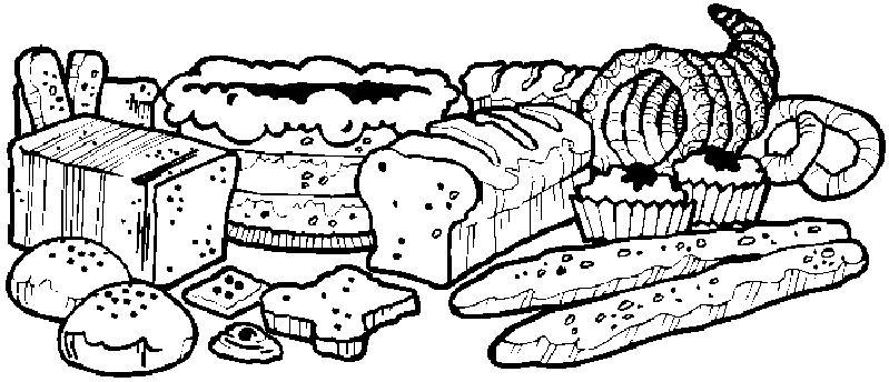 Boulangerie patisserie dessin - Coloriage farine ...