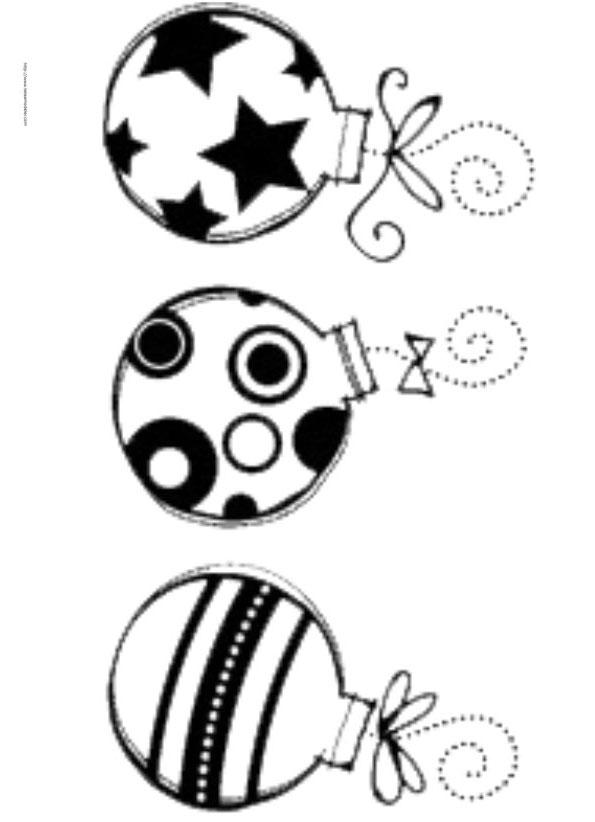 Coloriage dessiner boule de noel mandala - Images boules de noel a colorier ...