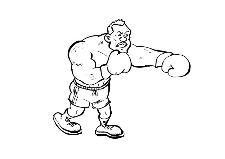 Dessin de boxe - Dessin gant de boxe ...