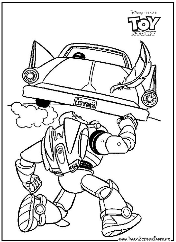 Image a colorier buzz l 39 eclair - Buzz a colorier ...