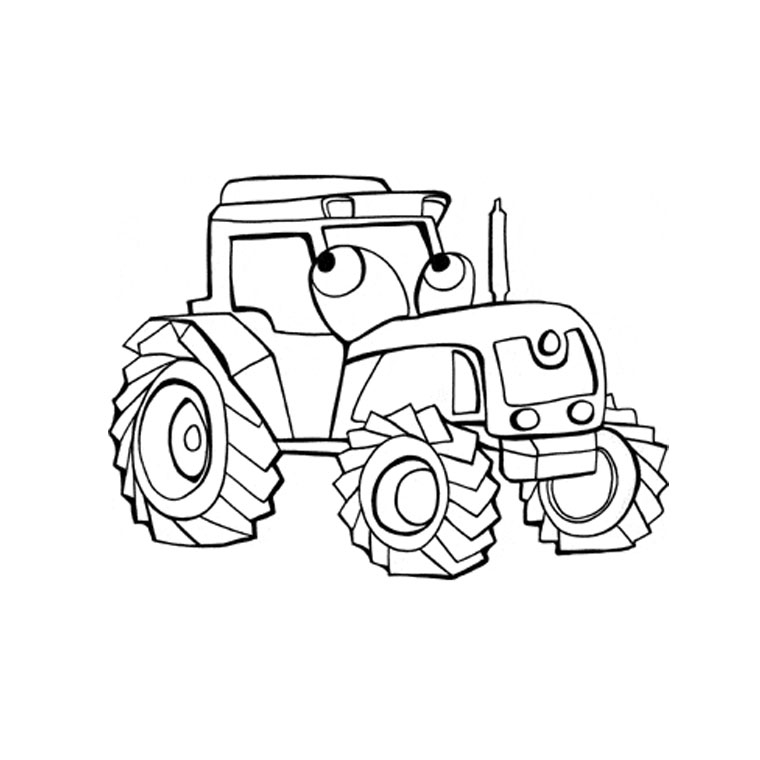 99 dessins de coloriage camion grue imprimer - Dessin moissonneuse ...
