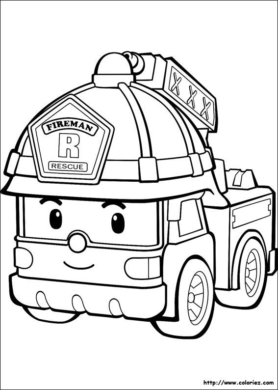 97 dessins de coloriage Camion