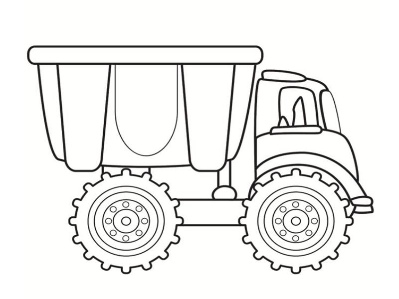 Раскраска спортивных грузовиков