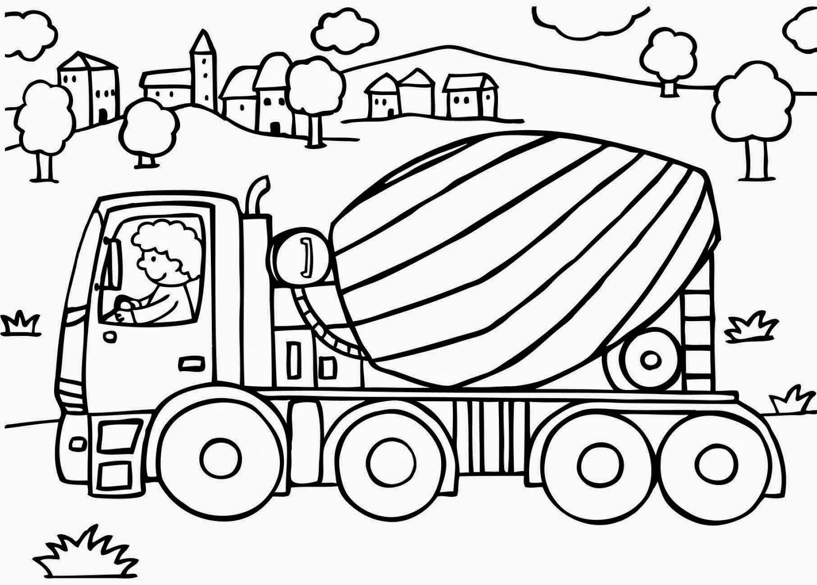 99 dessins de coloriage camion toupie imprimer - Dessin toupie ...