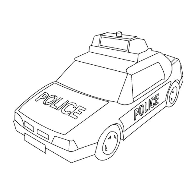 dessin camion de pompiers gratuit