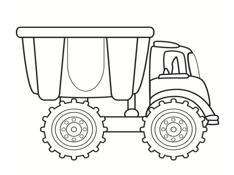 Dessins colorier camion - Coloriage cars mack ...