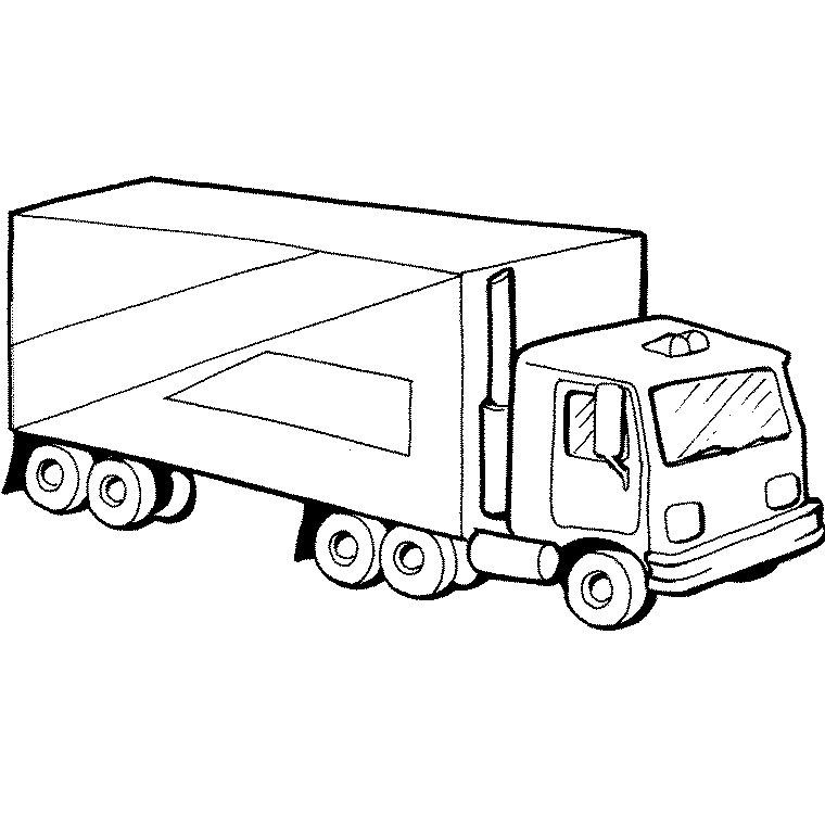coloriage à dessiner finley camion pompier