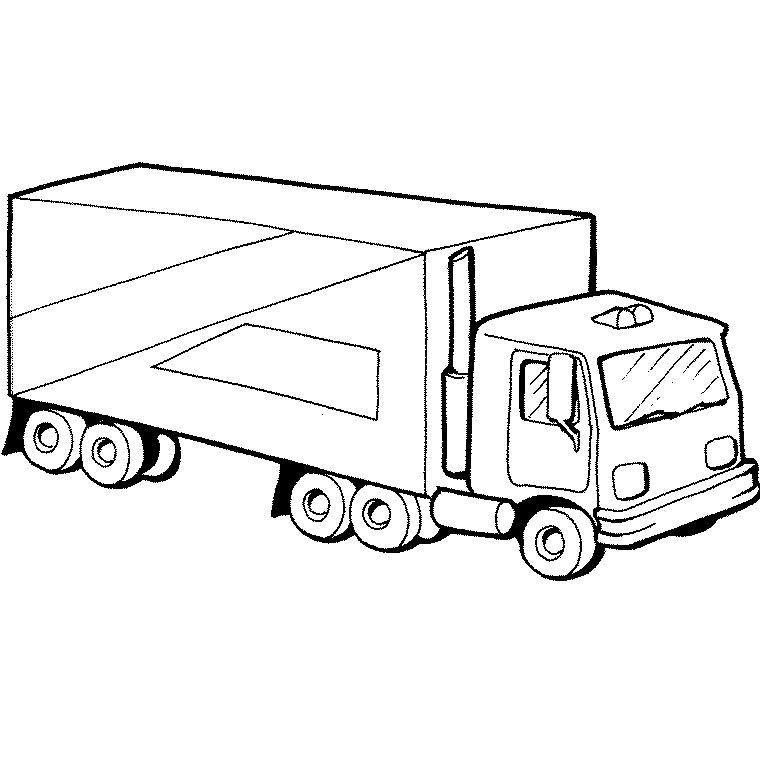 dessin camion citerne
