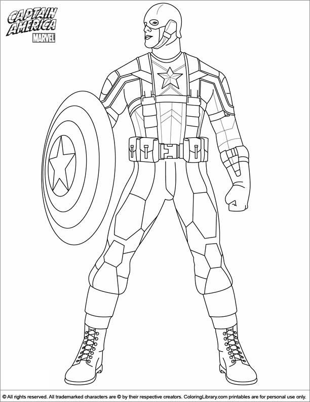 dessin bouclier captain america