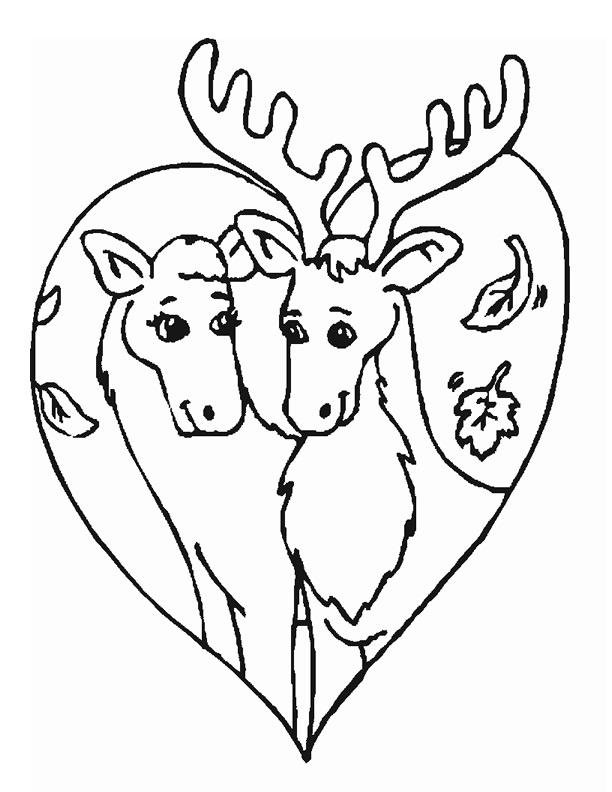 dessin caribou