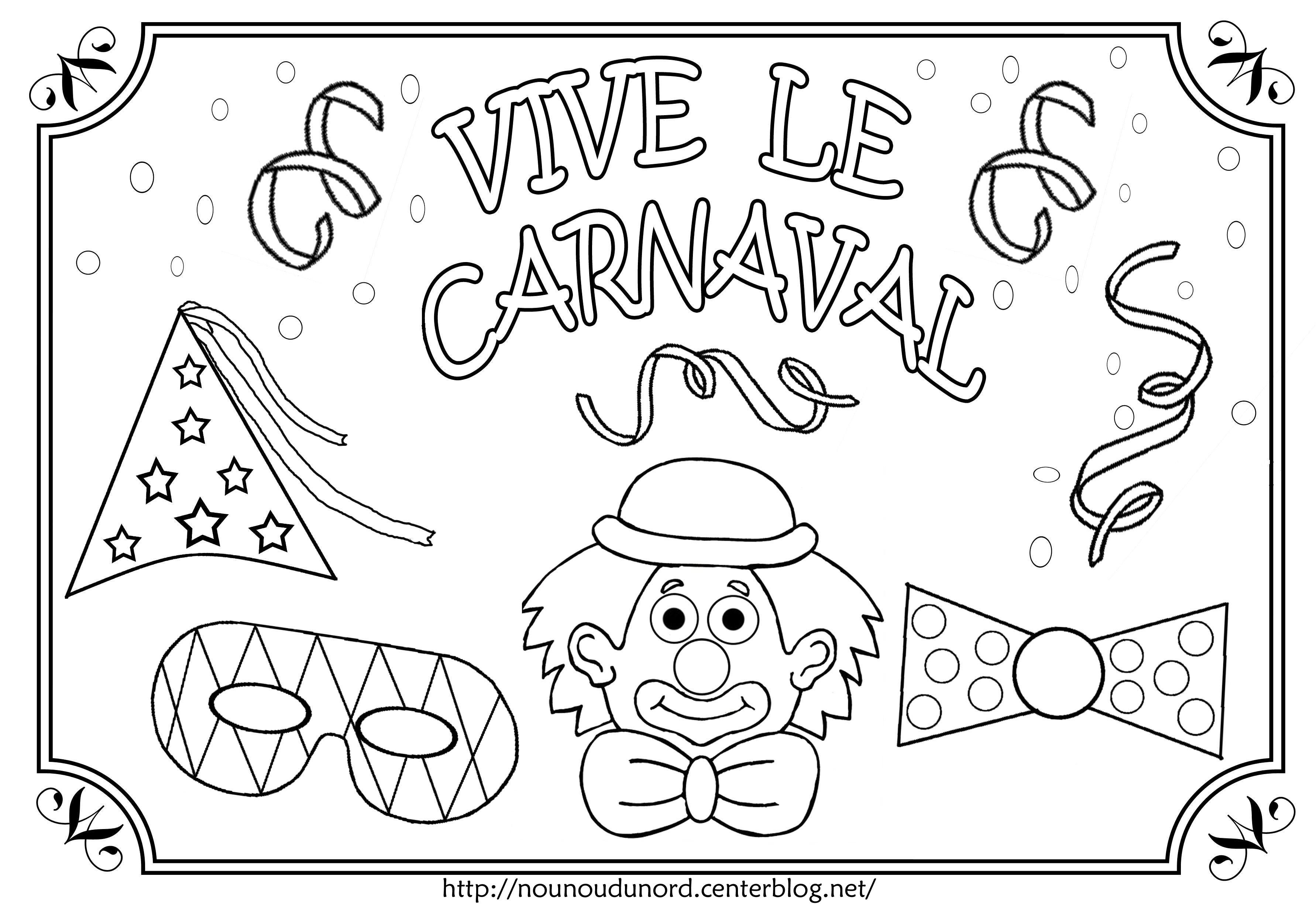 coloriage à dessiner masque carnaval de rio