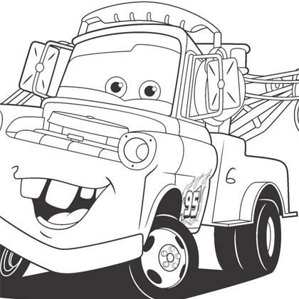 19 dessins de coloriage cars martin imprimer - Car coloriage ...