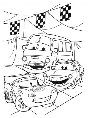 dessin interactif cars 2