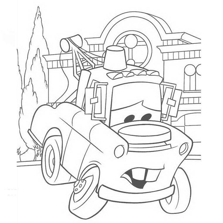 dessin cars a ne pas imprimer