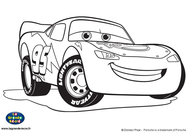 dessin cars 1 a imprimer gratuit