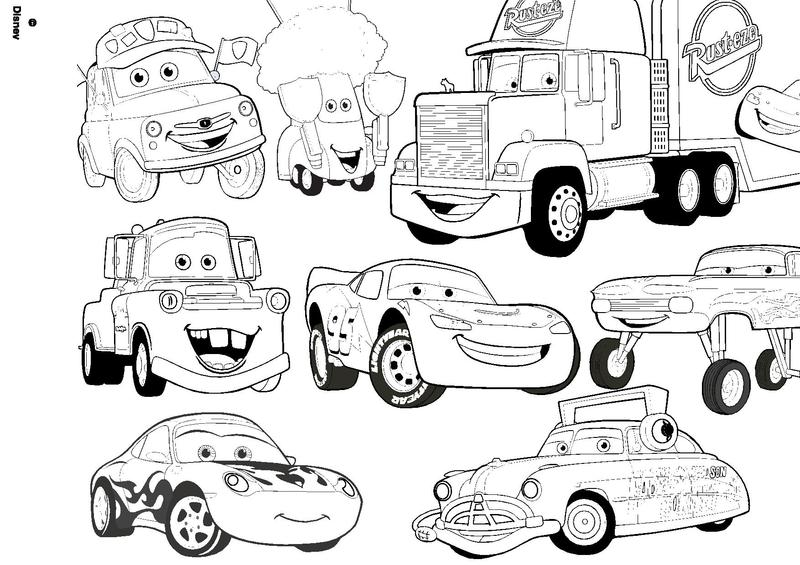 121 Dessins De Coloriage Cars A Imprimer