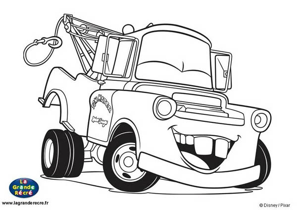 Coloriage Cars Le King.121 Dessins De Coloriage Cars A Imprimer