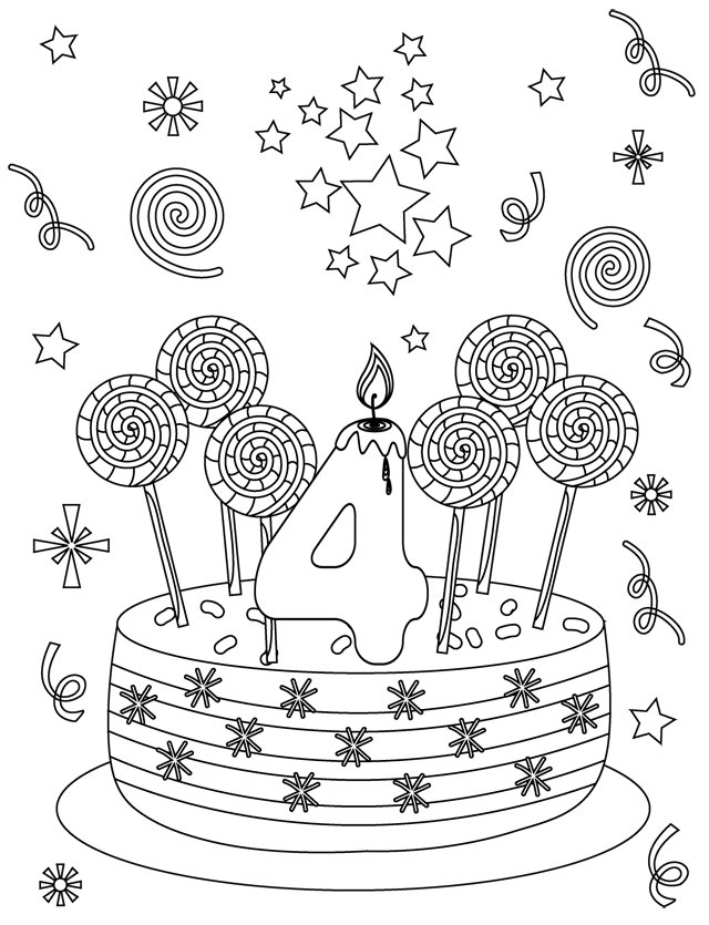 Coloriage Carte D Invitation