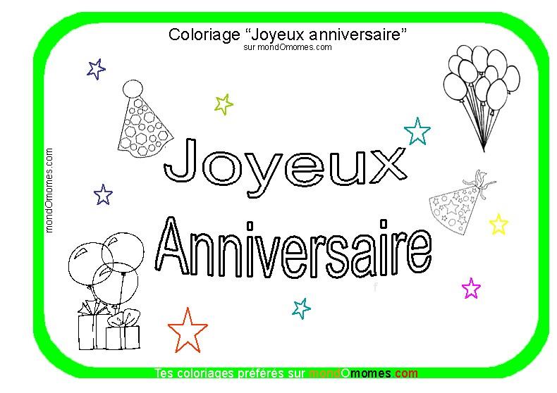 Beautiful carte anniversaire coloriage unique carte anniversaire coloriage dessin coloriage 2019 - Dessin invitation ...