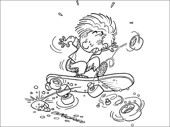 coloriage à dessiner cedric gratuit