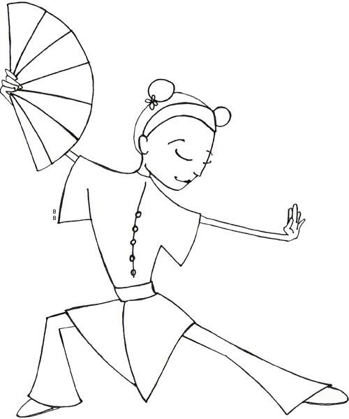 20 dessins de coloriage cerf volant chinois imprimer - Coloriage de chine ...
