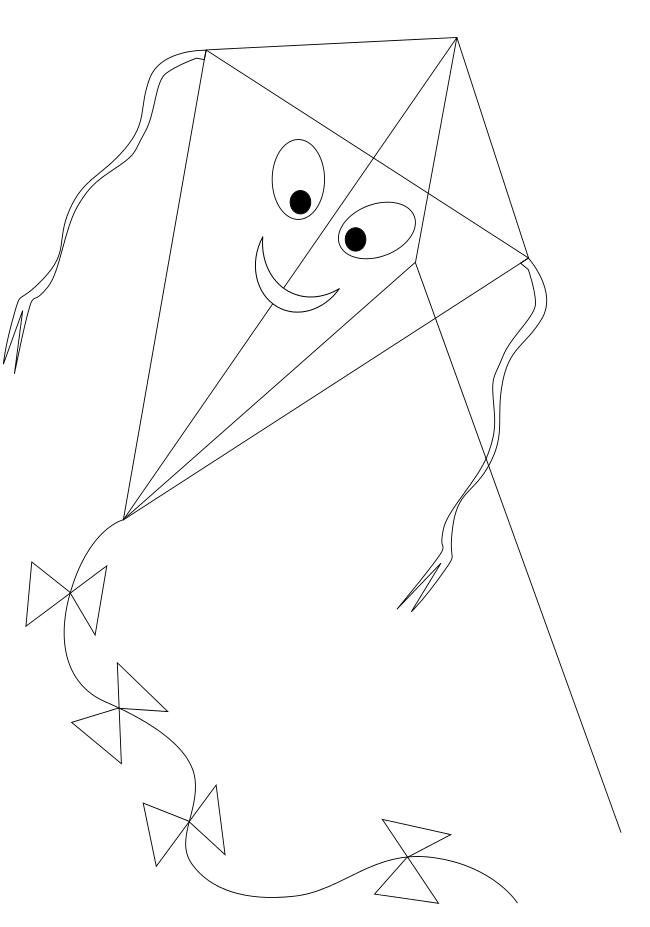 20 dessins de coloriage cerf volant chinois imprimer - Cerf a colorier ...